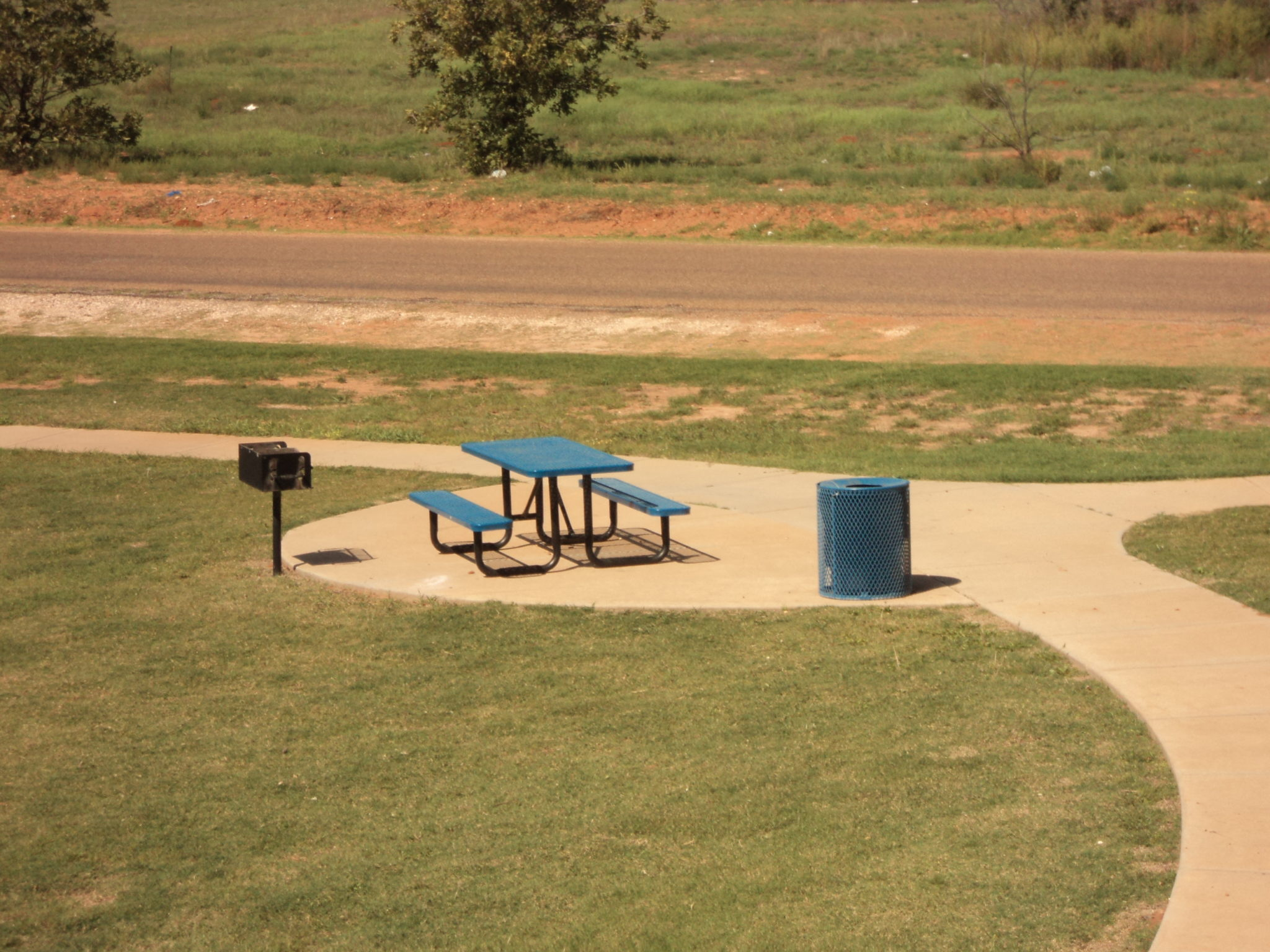 Avalon Park Brownfield TX Picnic Area and Grill (4)