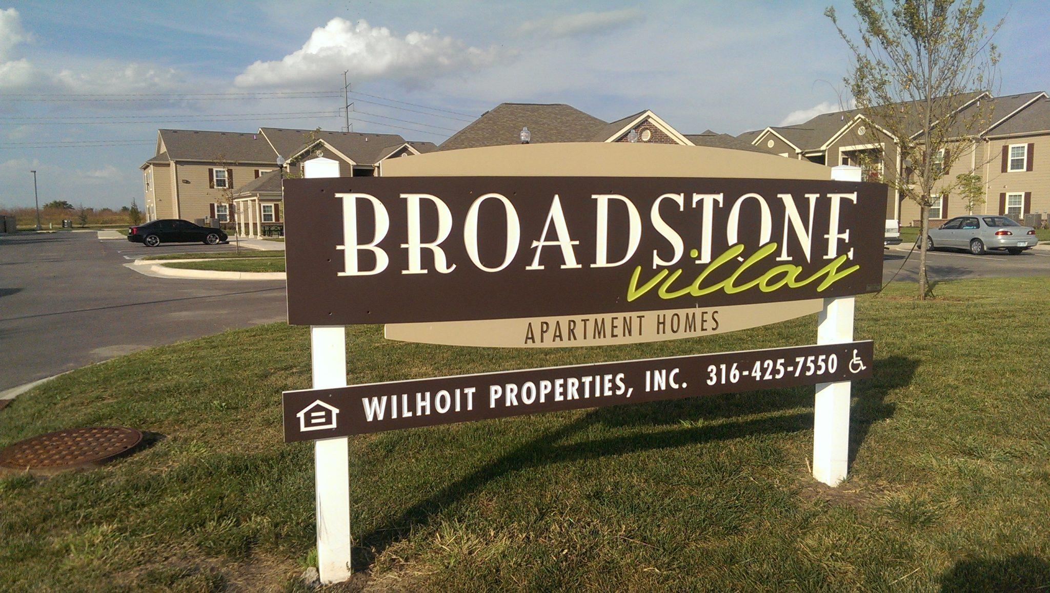 Broadstone Villas Bel Aire Kansas property sign