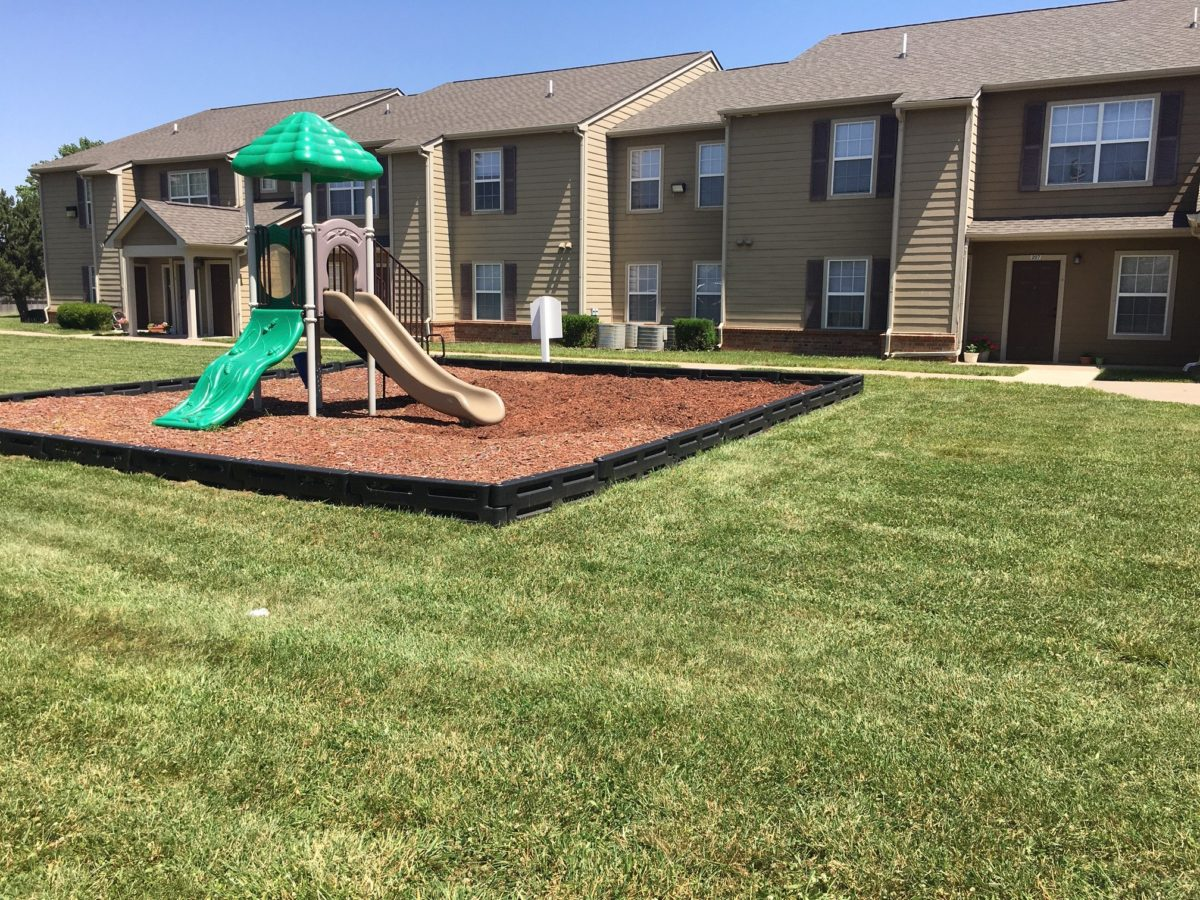 Brookfield Apartments-Valley Center KS. playgound. 67147-7