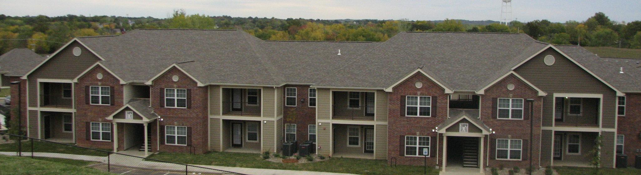 Covington Woods Lansing, KS Building far away