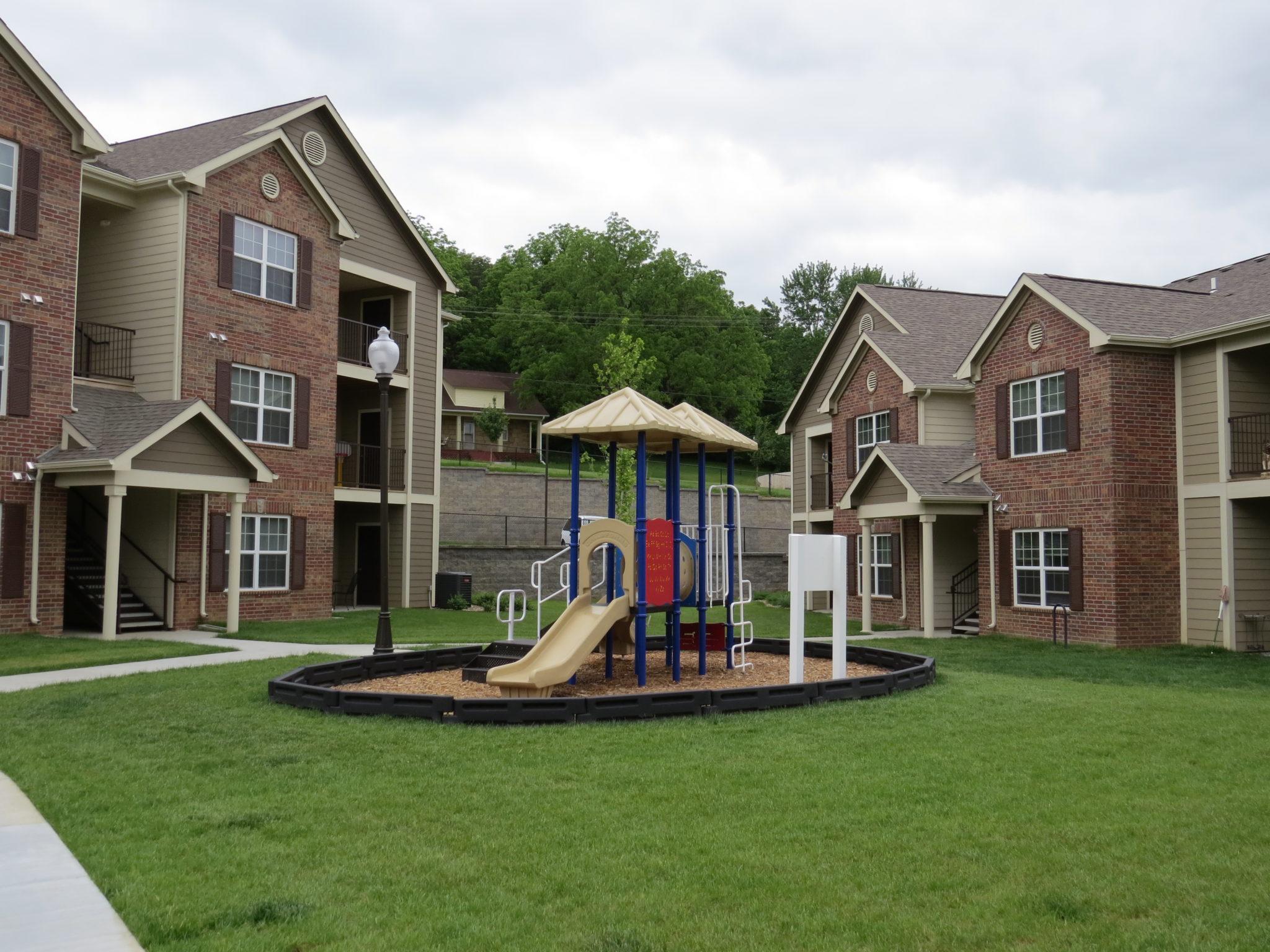 Covington Woods Lansing Kansas Two Building Playground