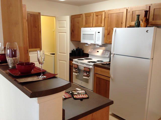 Dunes Apartments Seminole Texas Kitchen