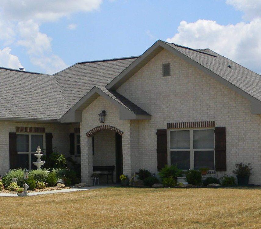 Oaklawn Estates Rogersville Missouri Tan Brick Home