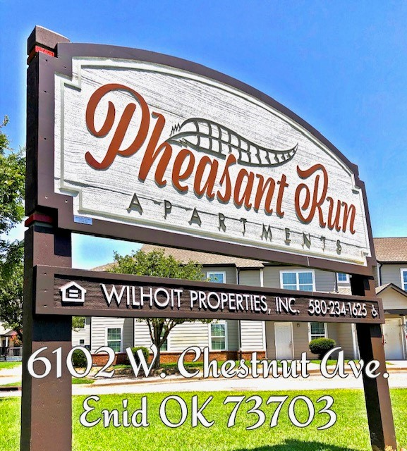 PHE front sign for marketing