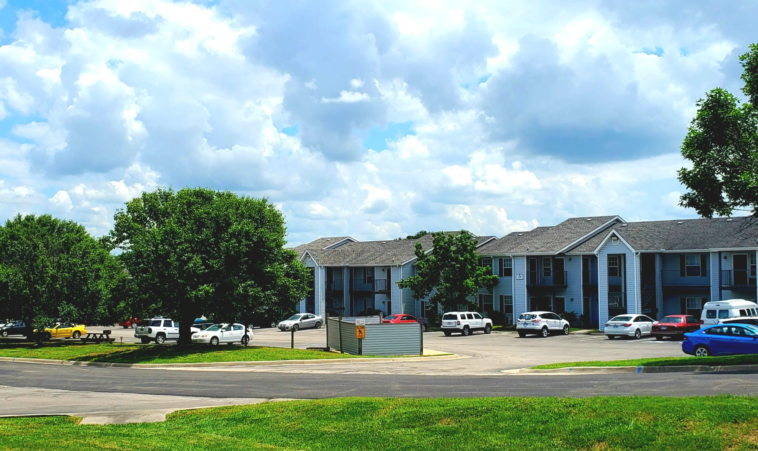 Parkford Apts Iola KS exterior buildings