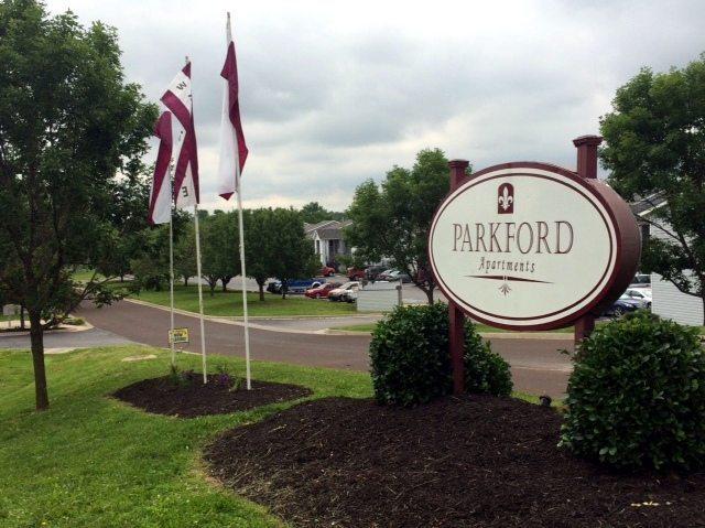 Parkford Apts Iola KS property entrance