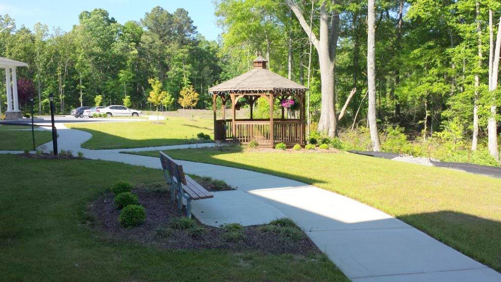 River Towne Manor-Roanoke Rapids, NC -Gazebo