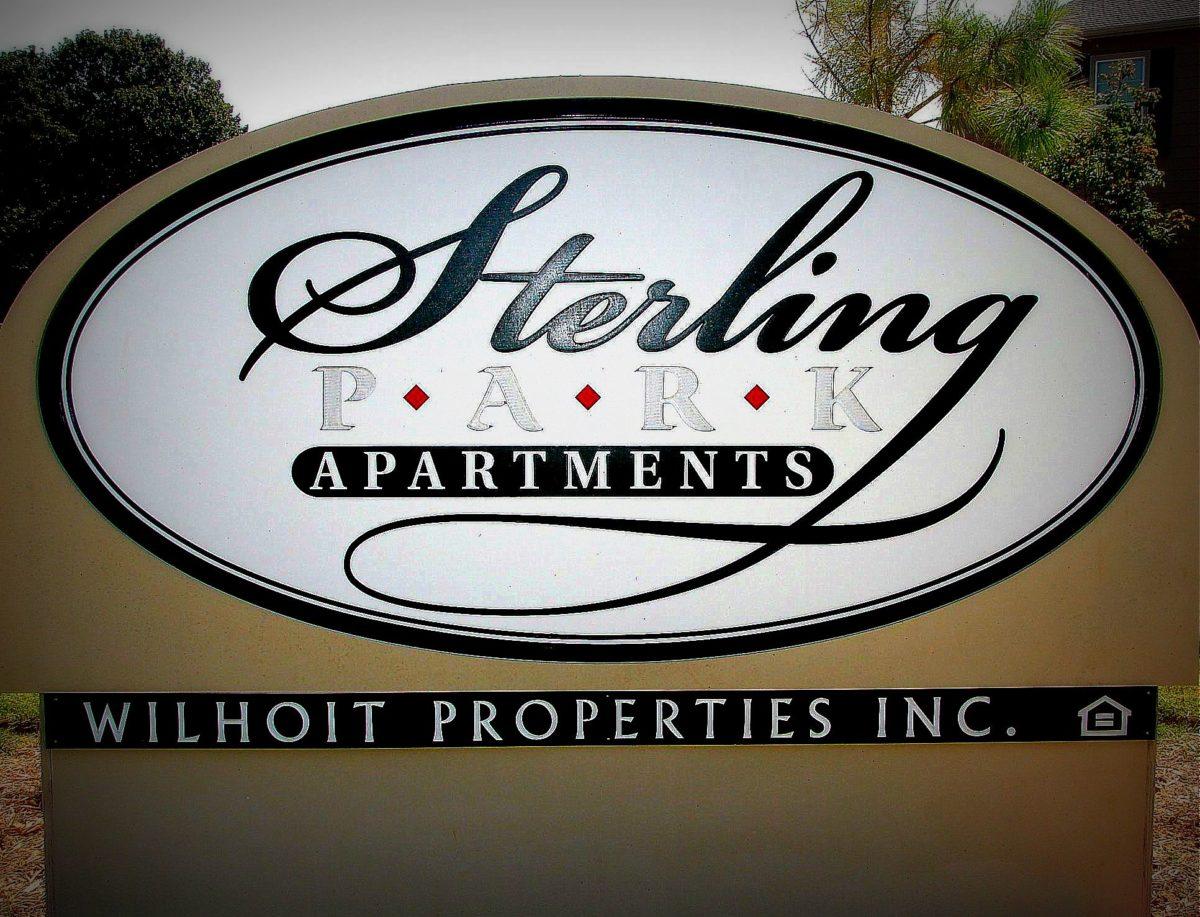Sterling Park Perkins Oklahoma sign