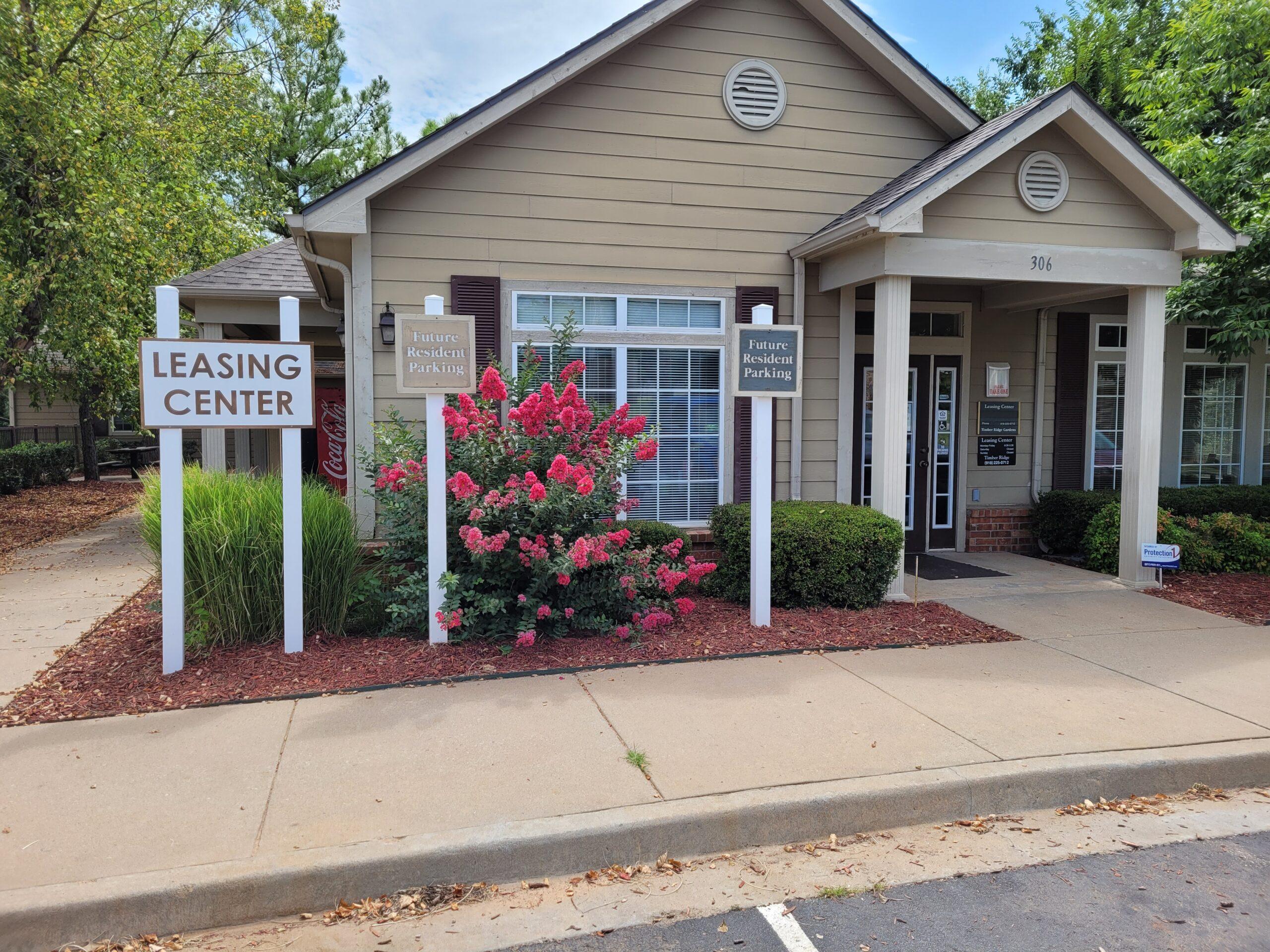 Timber Ridge Cushing OK leasing office