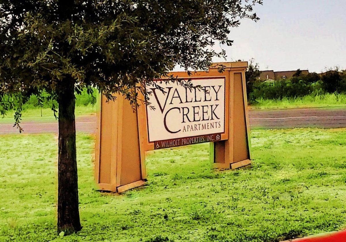 Valley Creek Fort Stockton TX sign