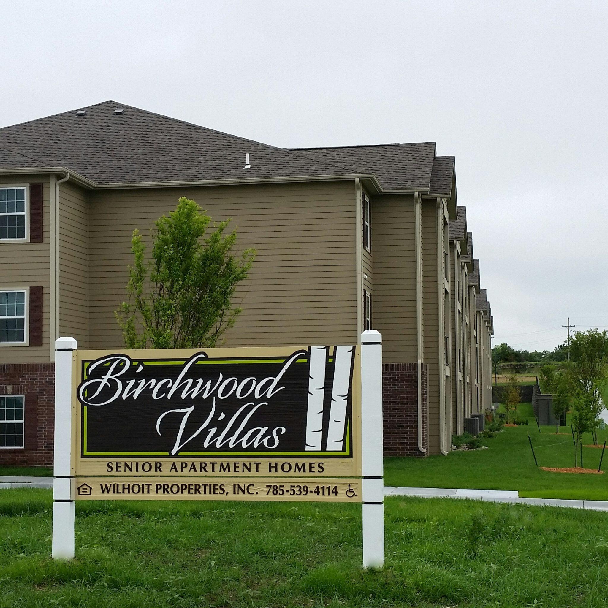 Birchwood Villas Manhattan KS Property Sign