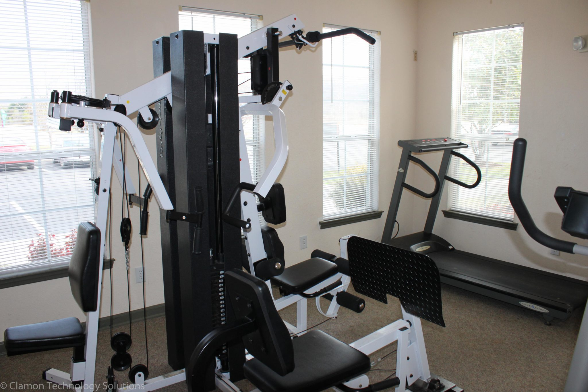 Bradley Place Cleveland ,TN-work out room