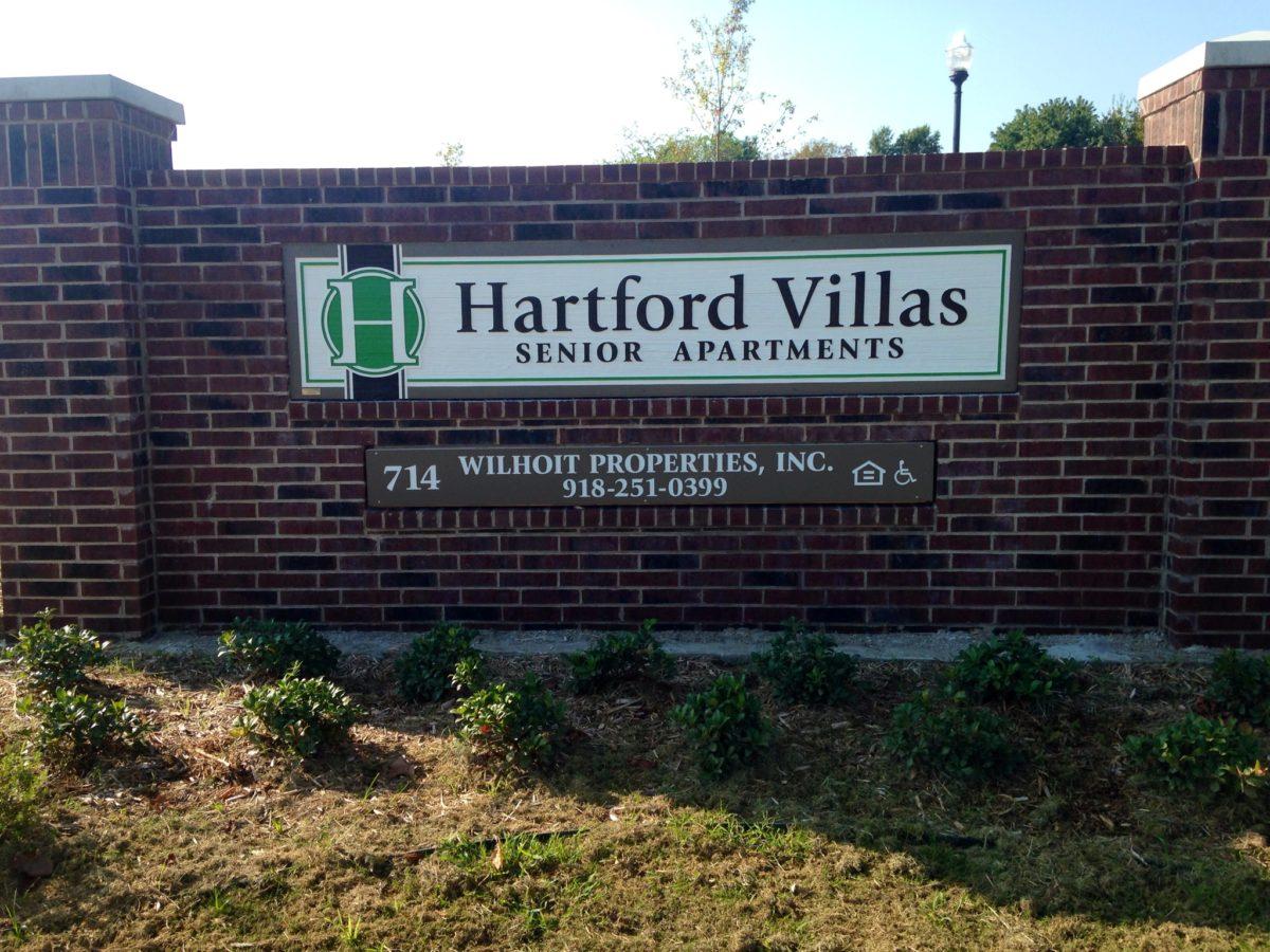 Hartford Villas Broken Arrow OK Sign II