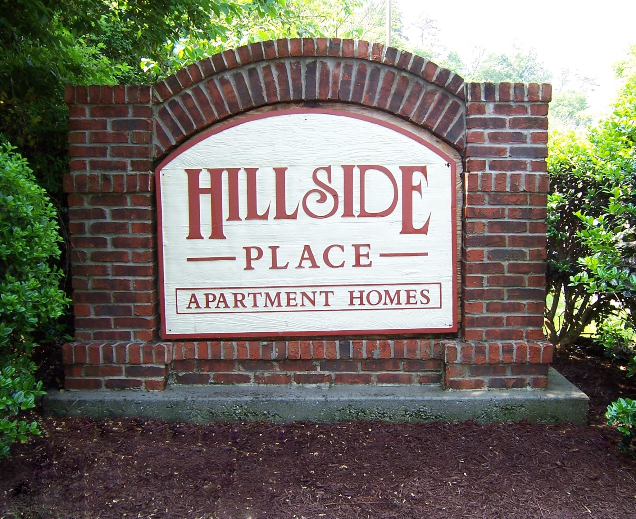 Hillside Place sign-Knoxville, TN