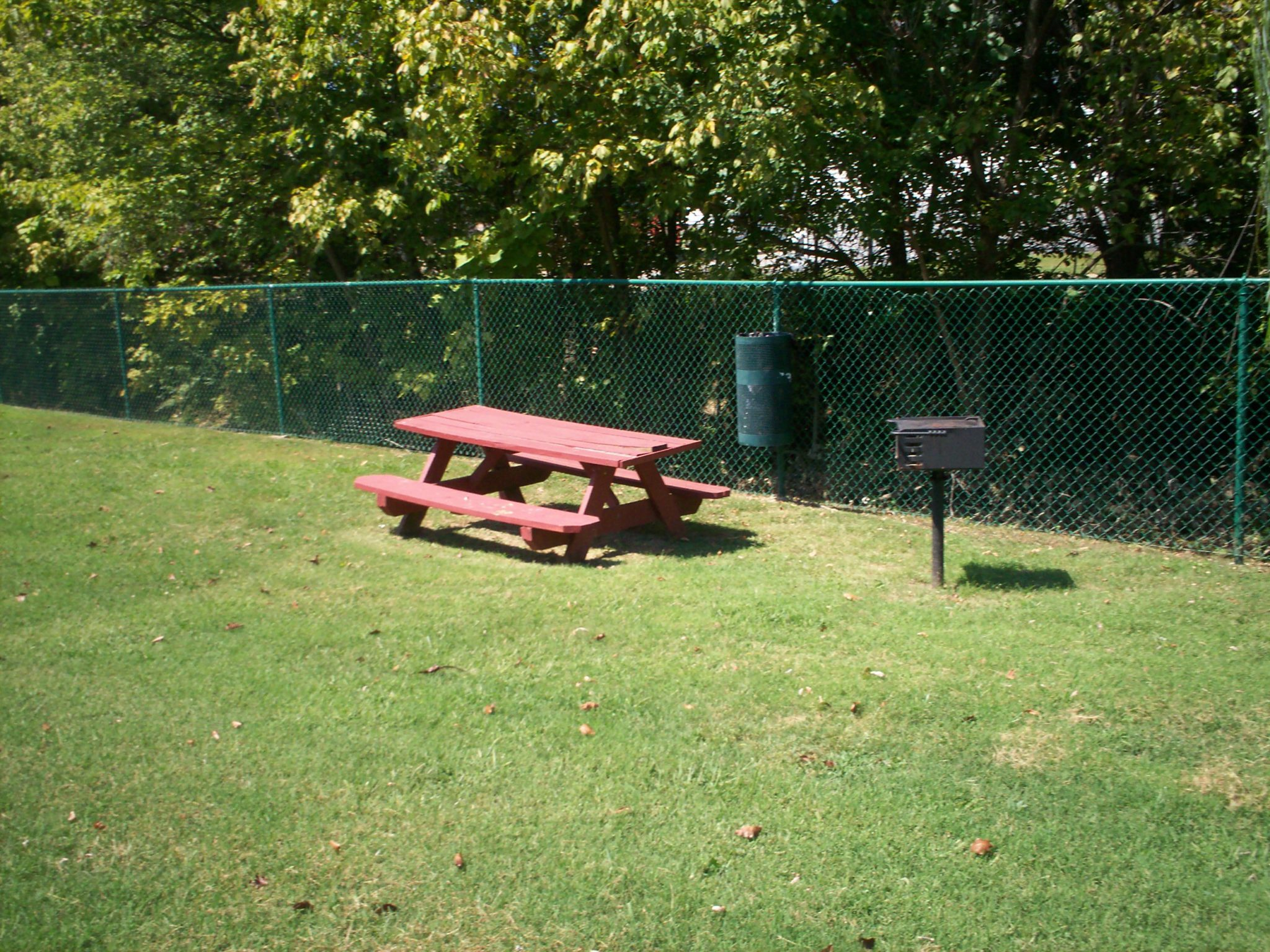 One Wilcox Place Kingsport TN picnic area