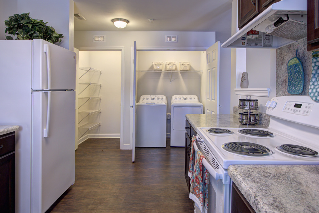 Oxford Crossing Claremont NC kitchen laundry pantry