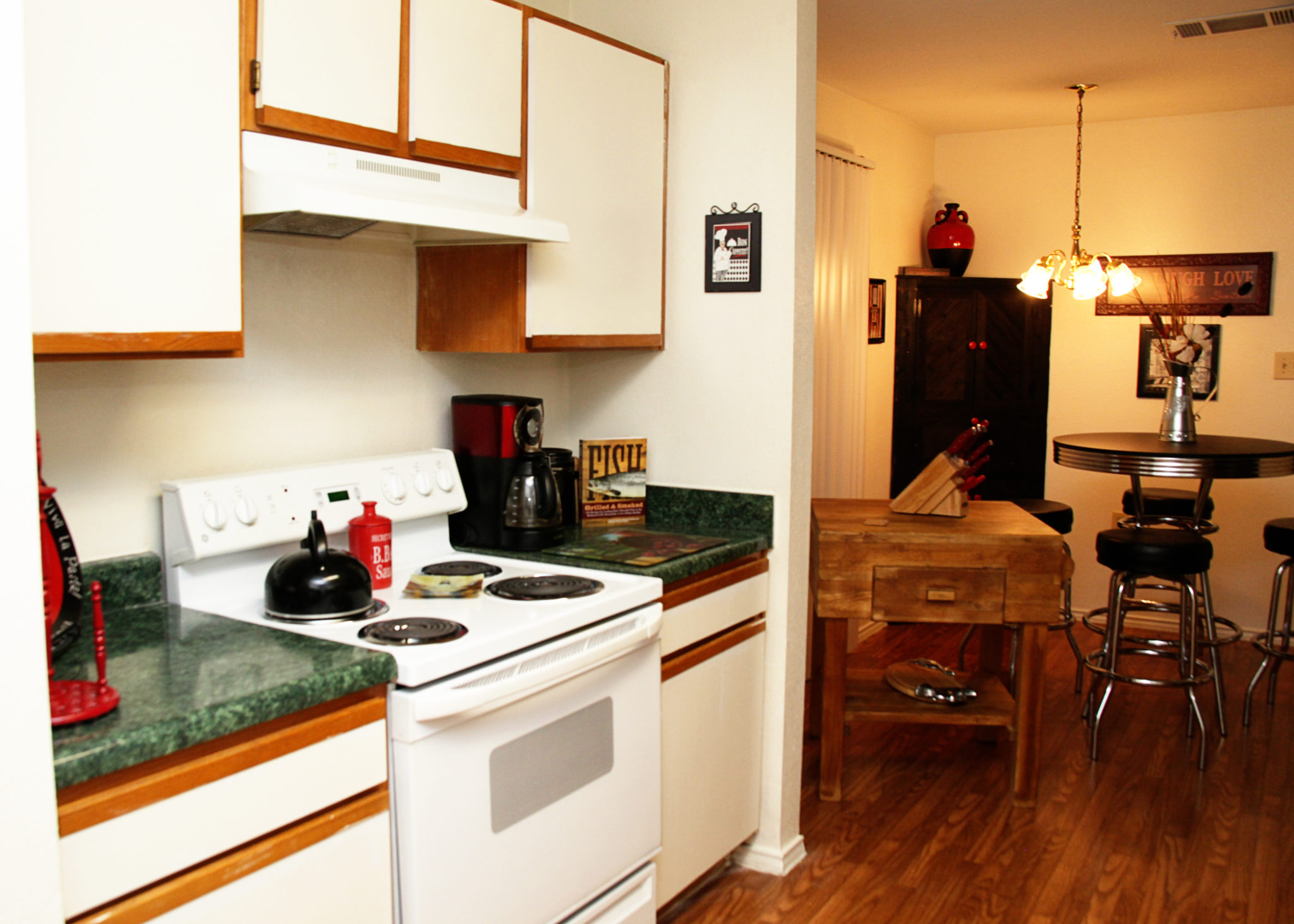 Ridgeview Townhomes, Paris, TX, Apt. Dining Room, Kitchen2