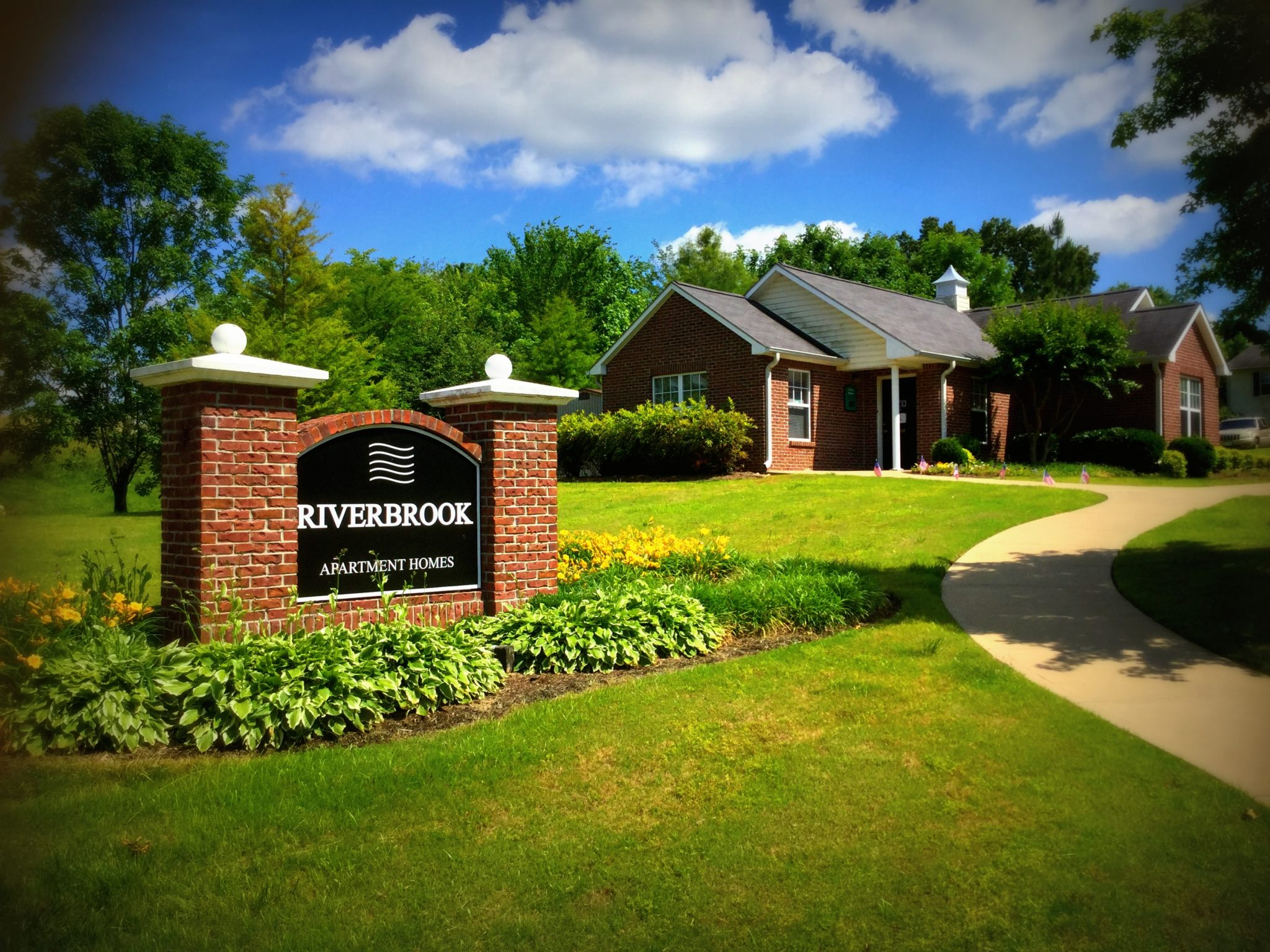 Riverbrook,Brownsville Tn entrance