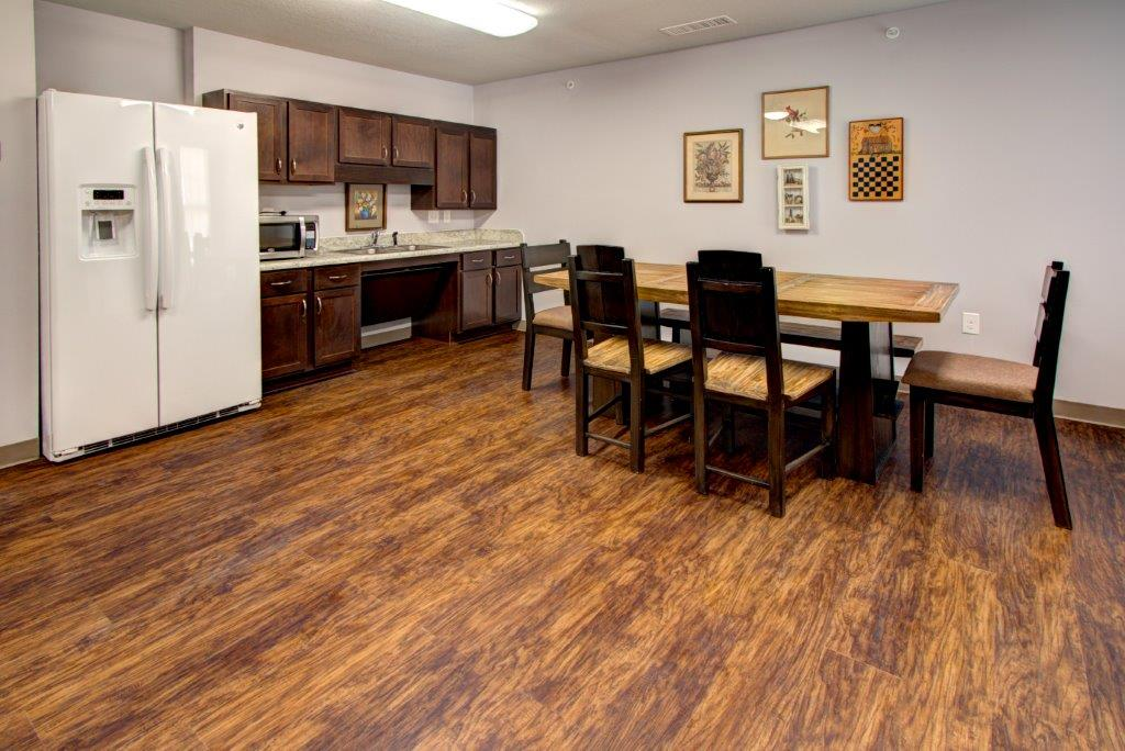 Whistler's Cove Mt Airy North Carolina Clubhouse Kitchenette