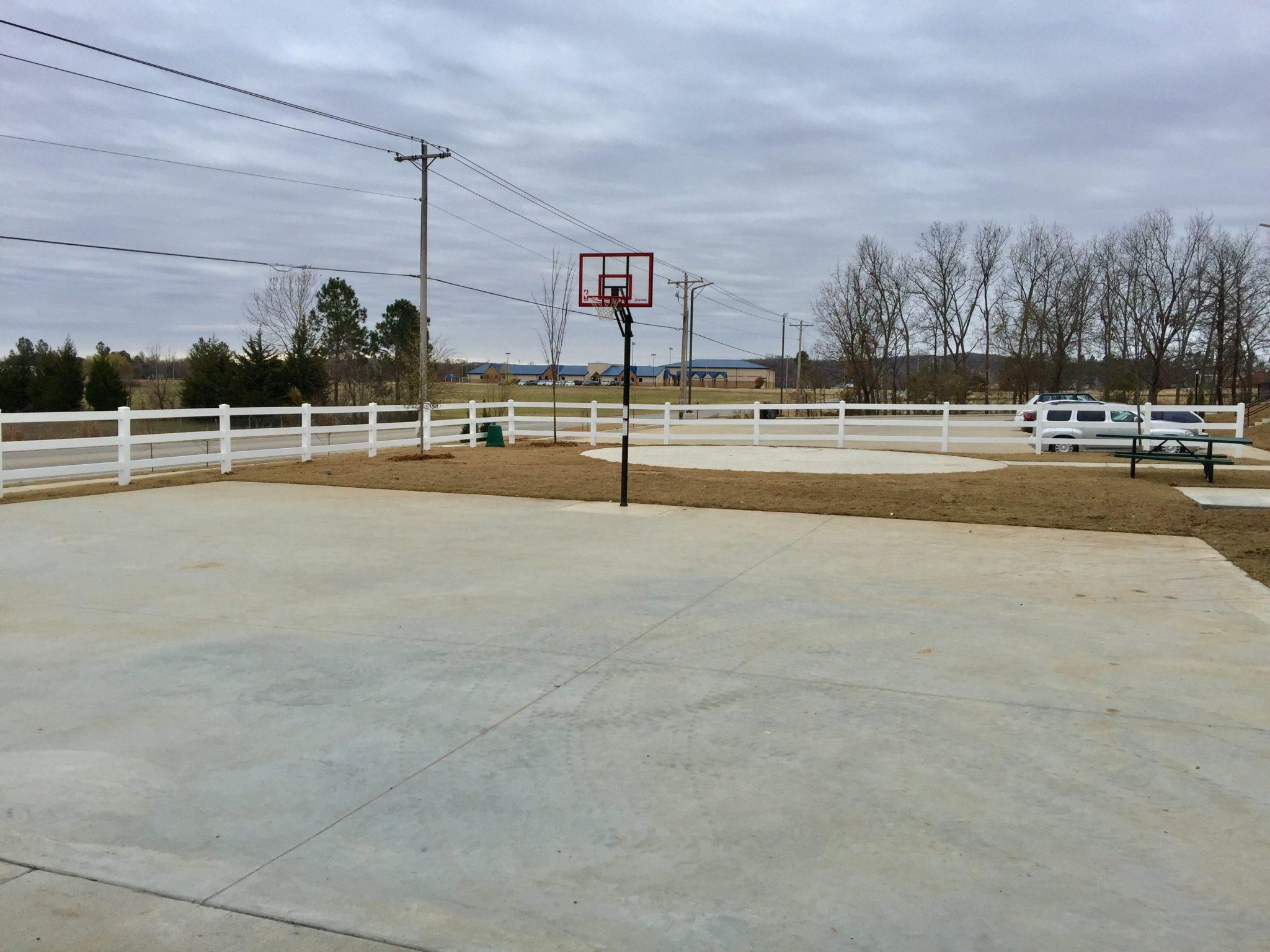 Wickham Gardens Sapulpa OK basketball court