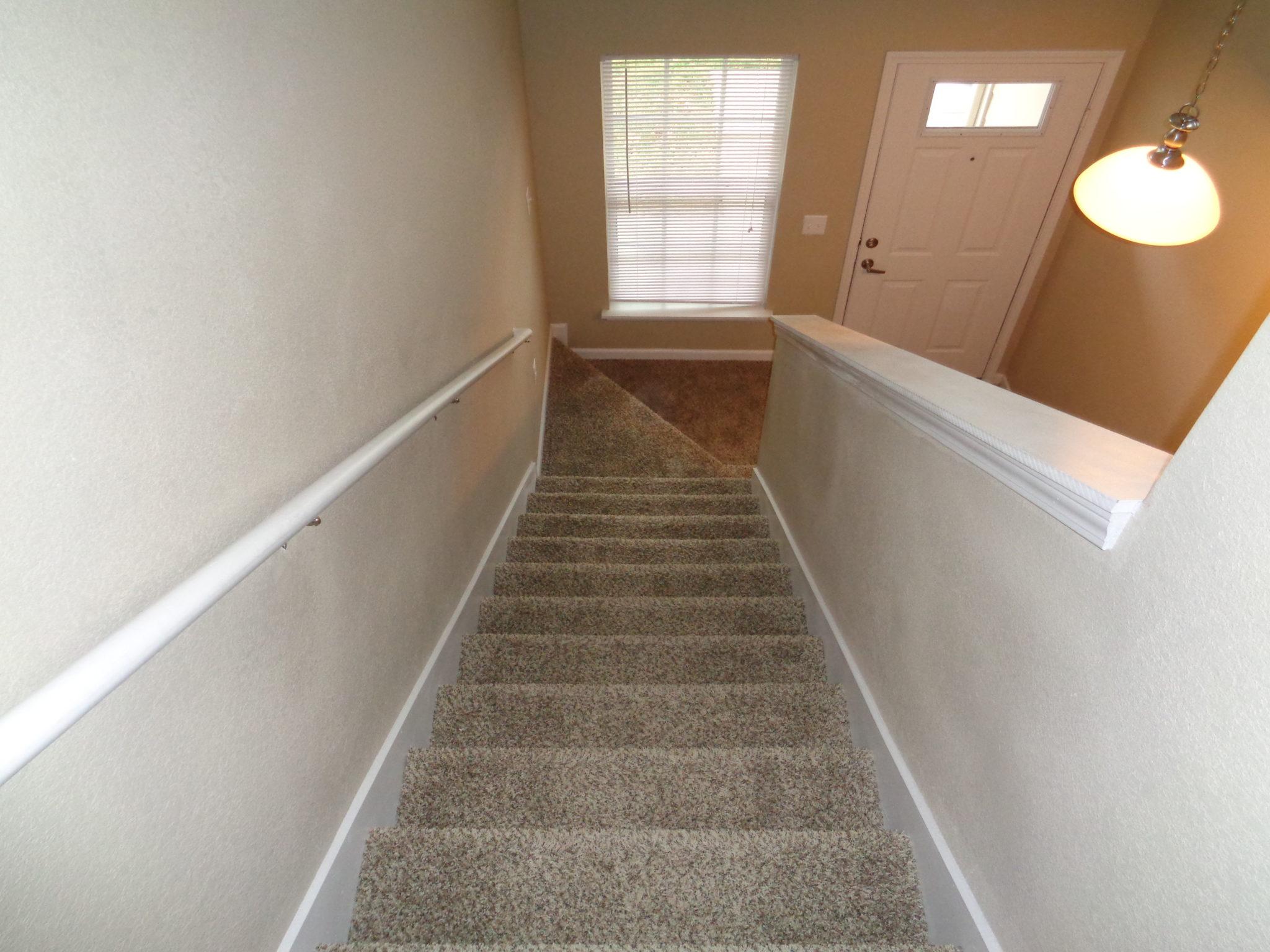 Ridgway Villas Raymore MO staircase