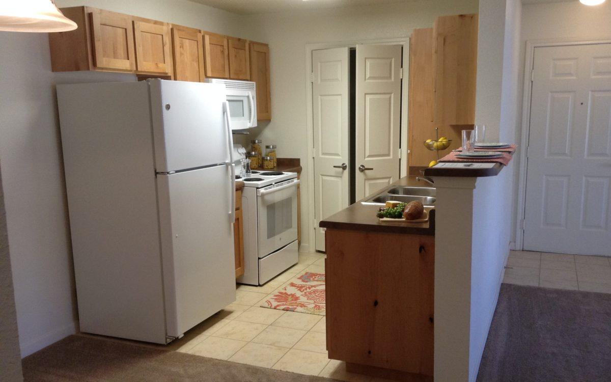 Rose Meadows Apartments Levelland Texas kitchen