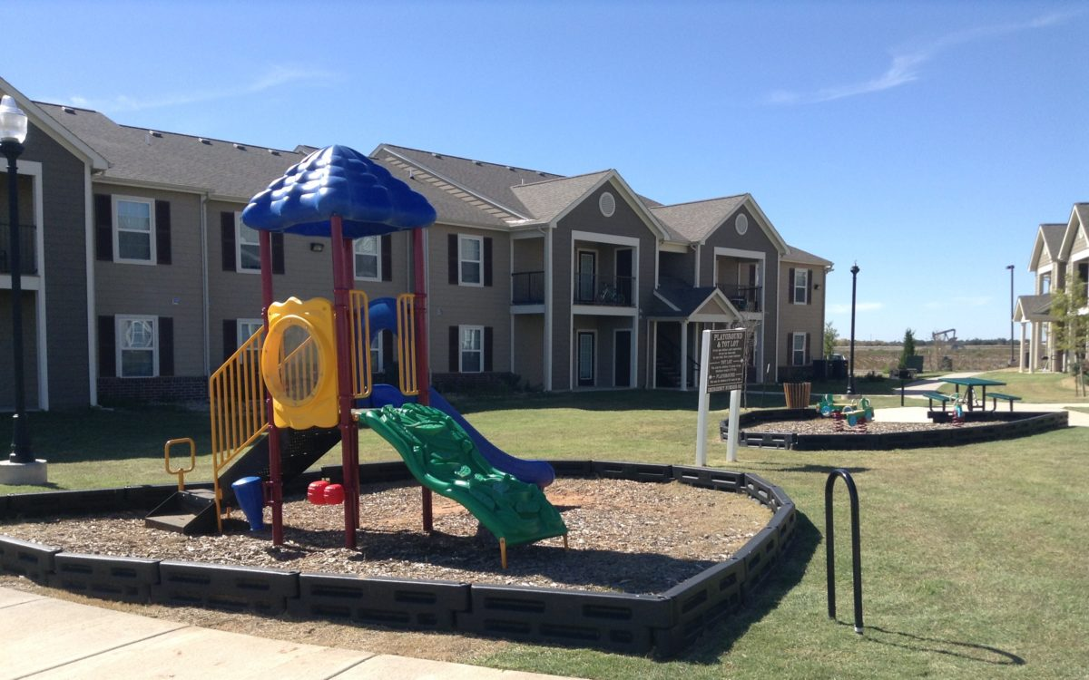 Rose Meadows Apartments Levelland Texas playground