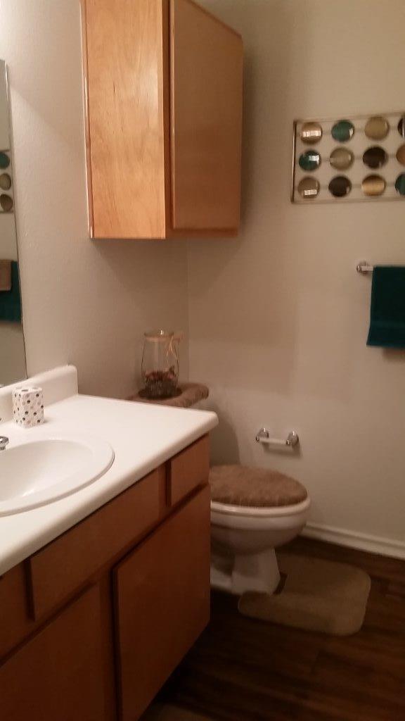Ryan's Corssing Marshall TX bathroom