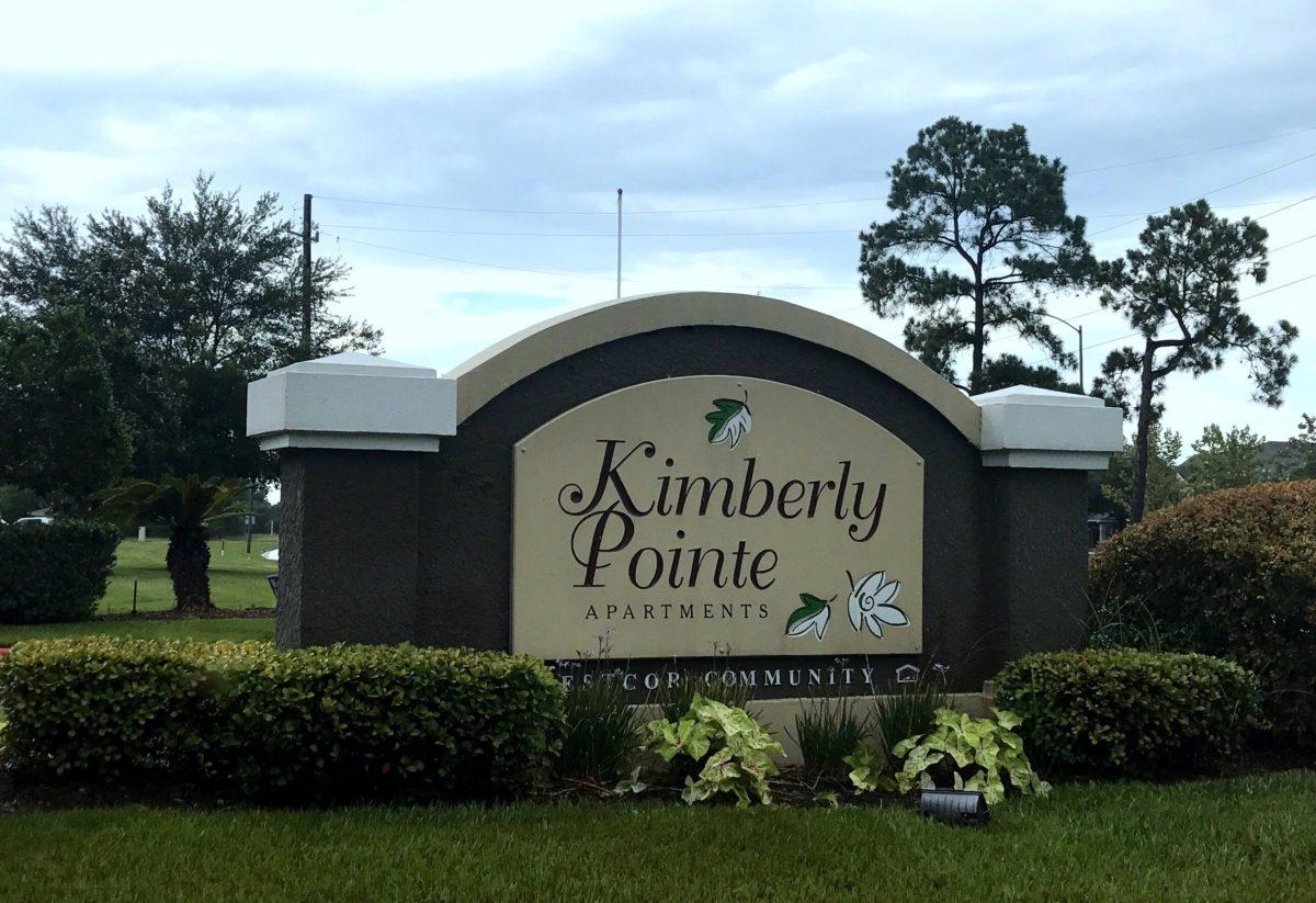 Kimberly Pointe Houston TX signage