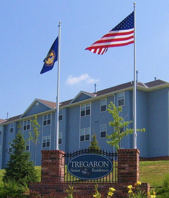 Tregaron Senior Residence Bellevue NE property marque