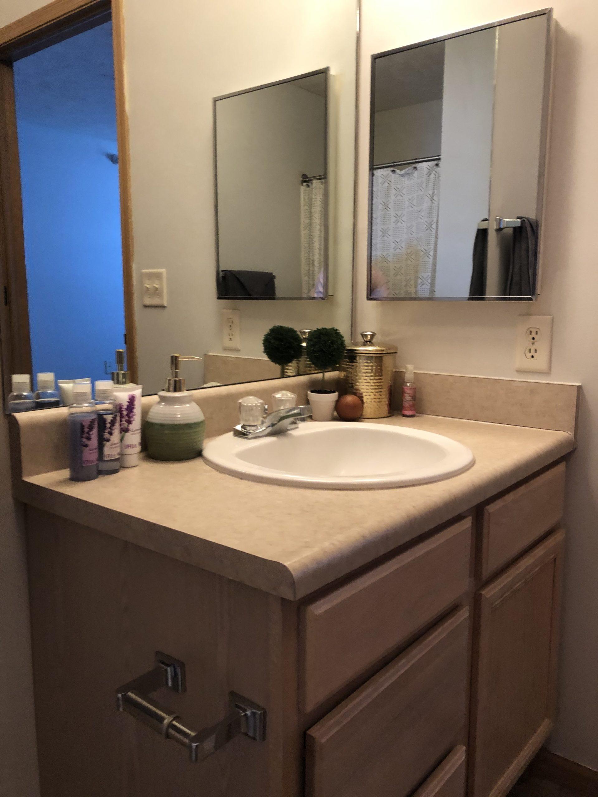 Tregaron Senior Residence Bellevue Nebraka bath 2