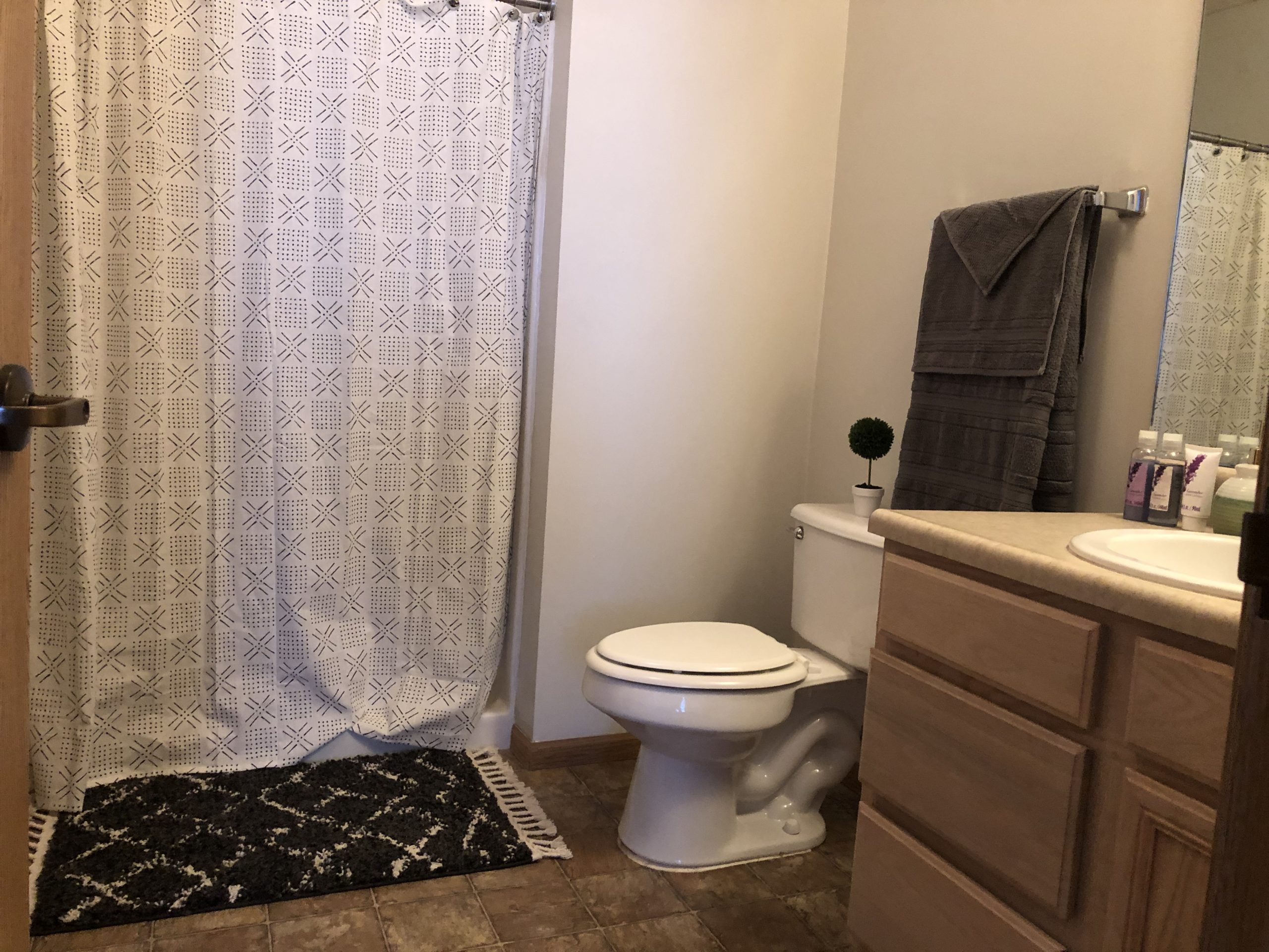 Tregaron Senior Residence Bellevue Nebraka bath 4