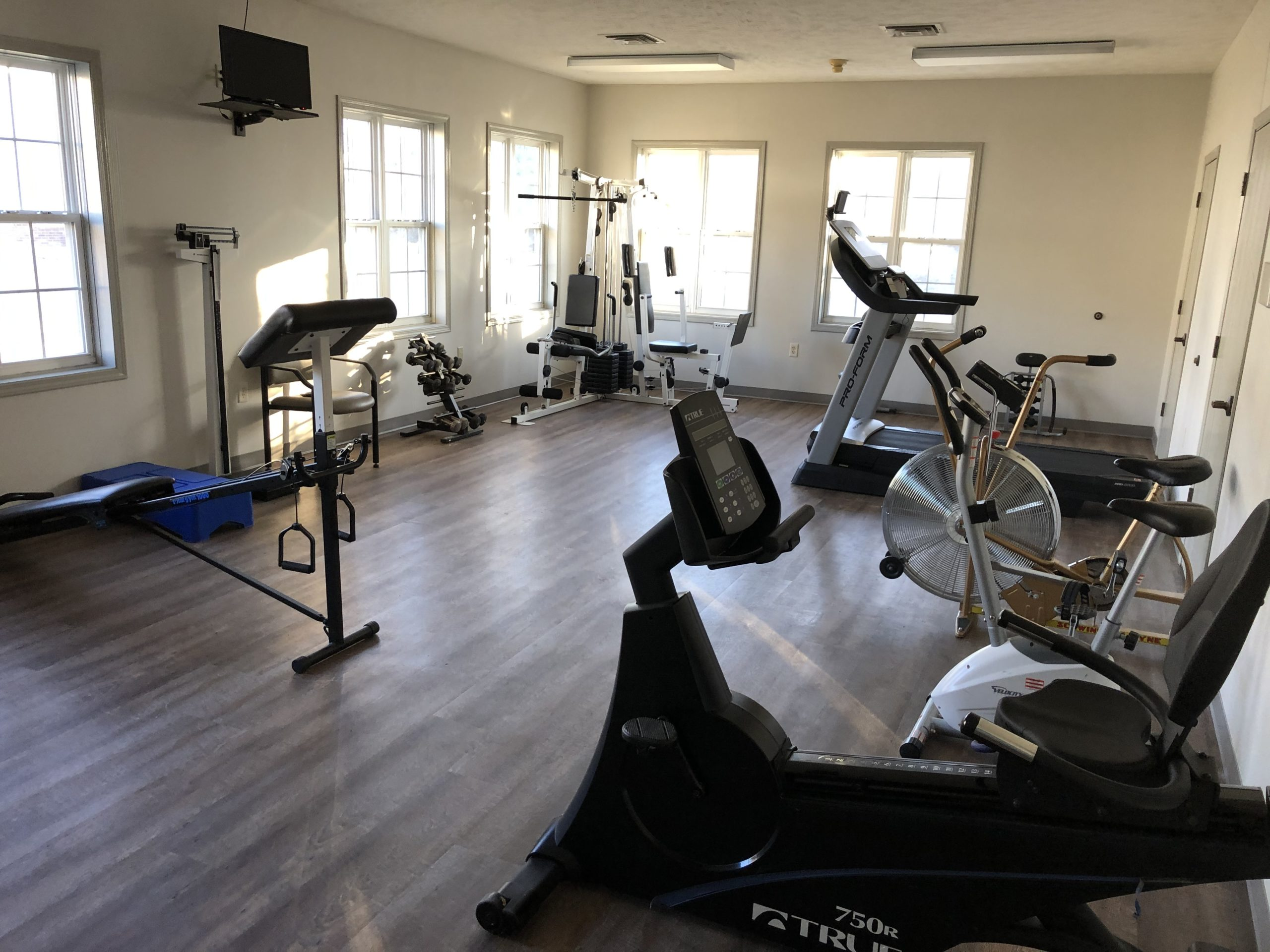 Tregaron Senior Residence Bellevue Nebraka fitness center
