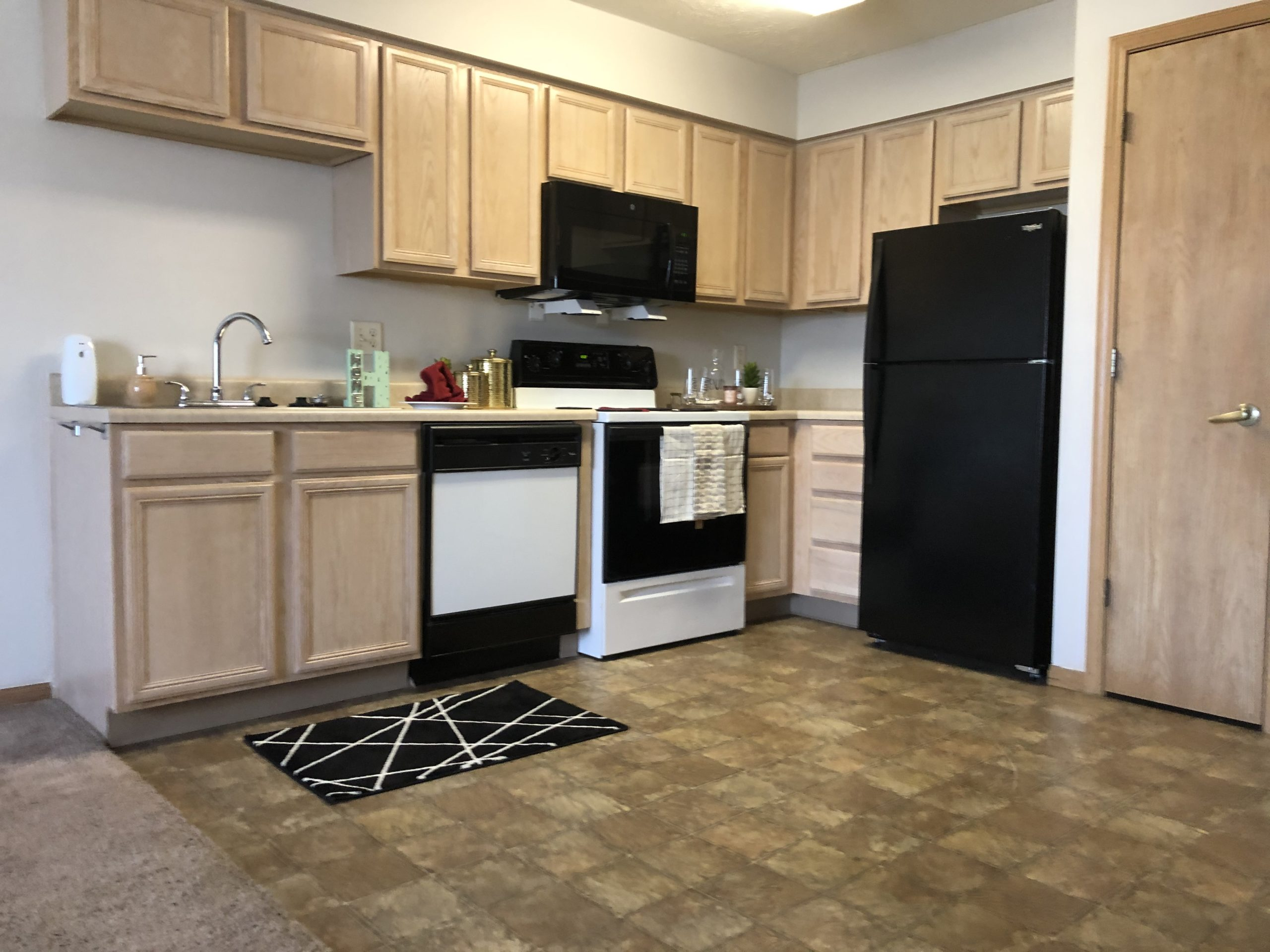 Tregaron Senior Residence Bellevue Nebraka kitchen