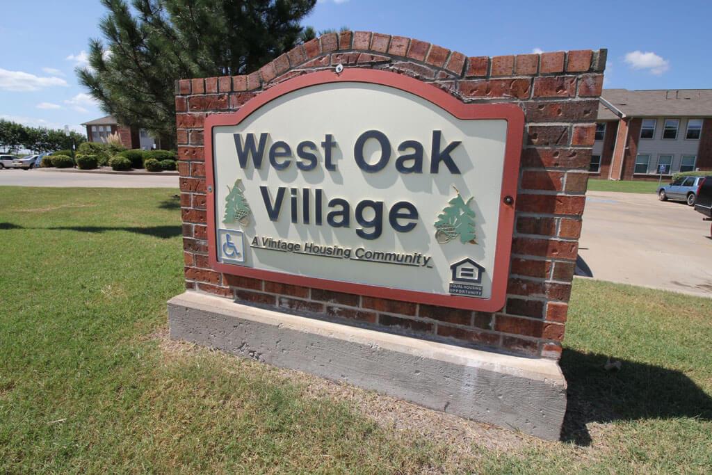 Wsignest Oak Village Statook Oklahoma