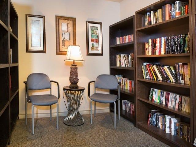 Carpenter's Pointe Dallas Texas library