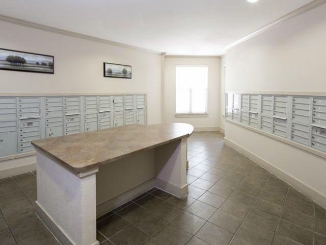 Carpenter's Pointe Dallas Texas mail room