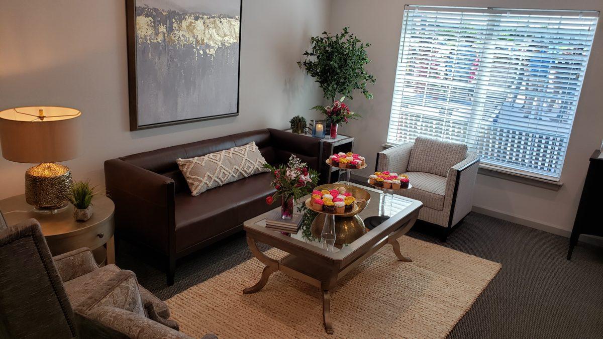 Villas at Lark Pointe community room