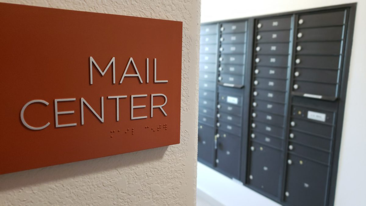 Villas at Lark Pointe mail center