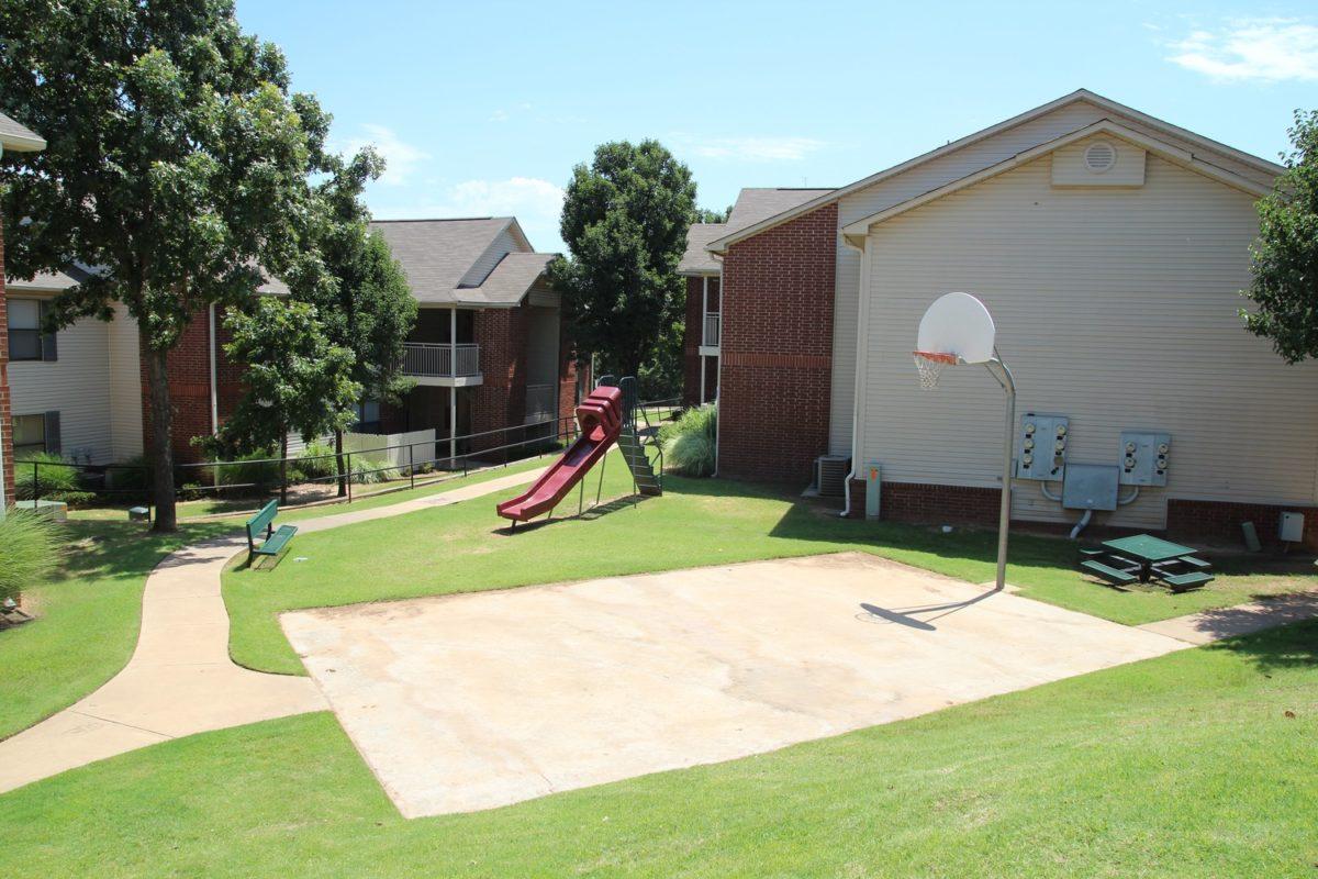 Park Ridge McPherson Kansas basketball court