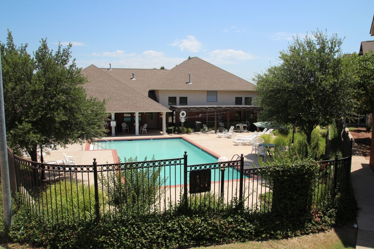 Park Ridge McPherson Kansas swimming pool