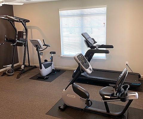 Cascade Villas Wichita Falls TX fitness room