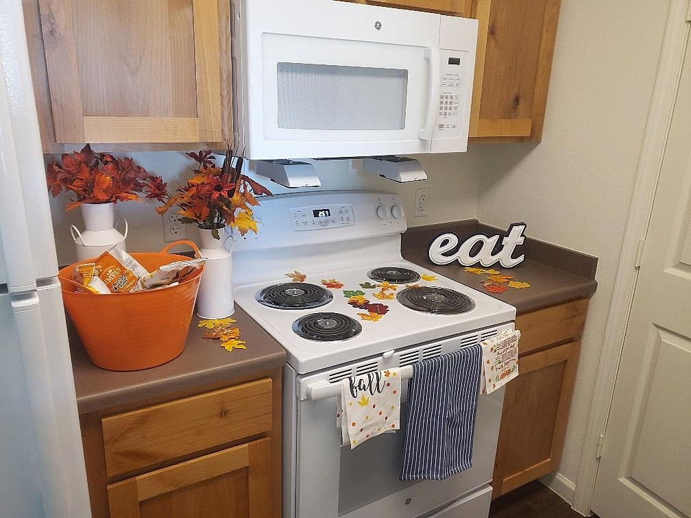 Cascade Villas Wichita Falls TX kitchen
