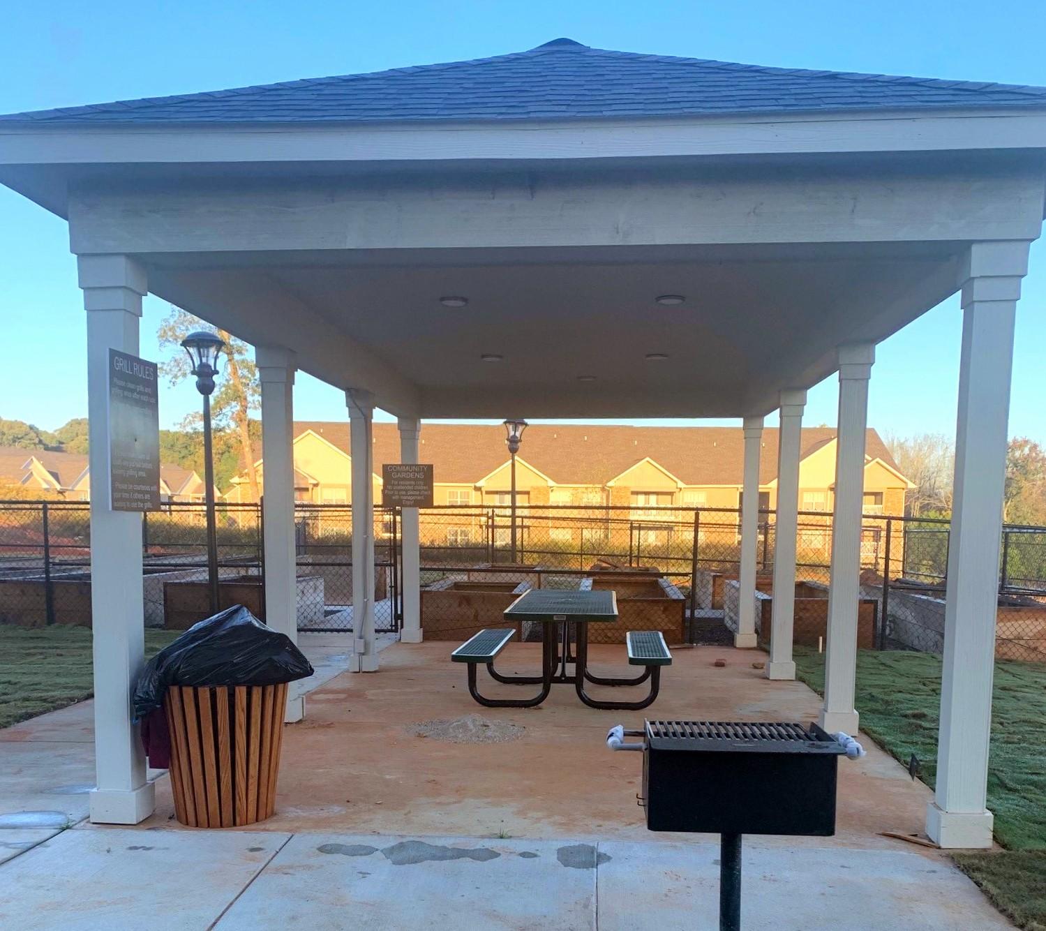 Tupelo Ridge WArner Robbins GA BBQ Pavilion