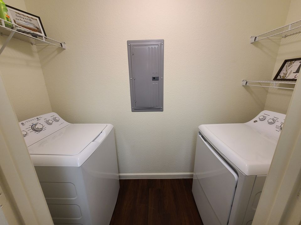 Western Springs Apartments Dripping Springs TX model laundry