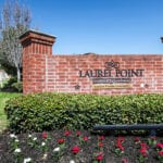 Laurel Point Houston Texas main sign