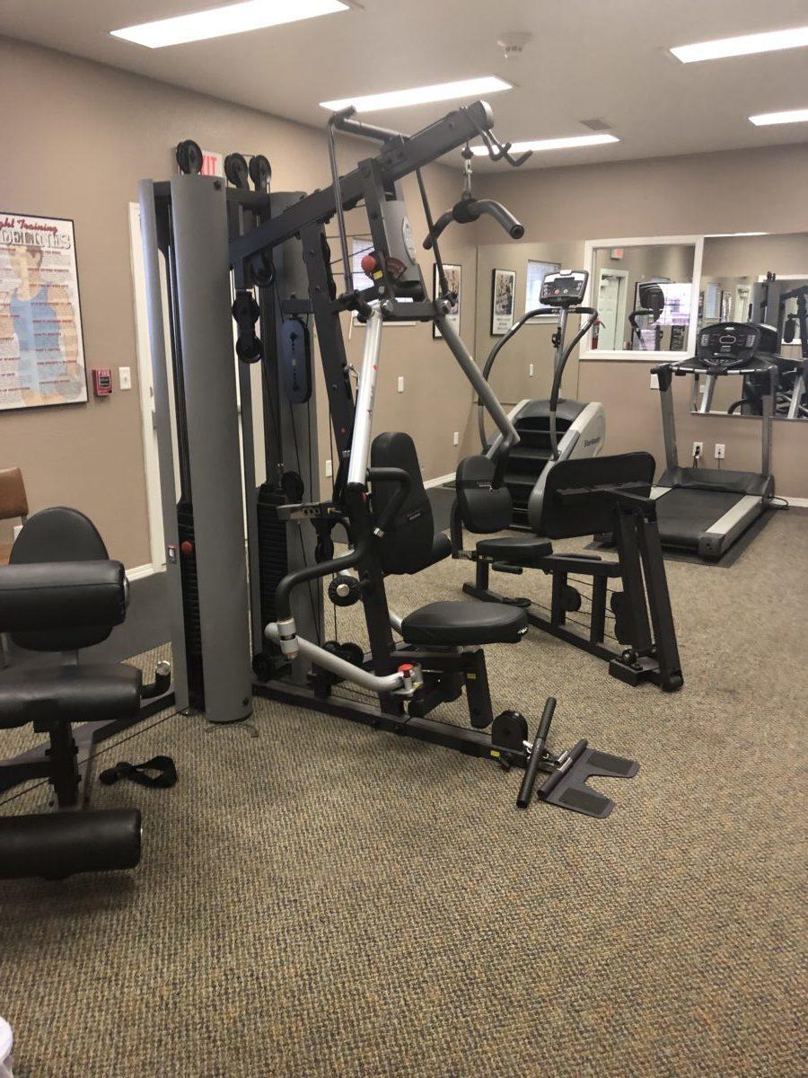 North Grand Villas Amarillo TX fitness center