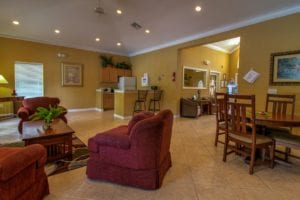 Timber Run Apartments Springs Texas clubhouse community room