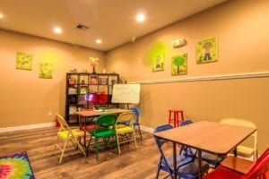Timber Run Apartments Springs Texas clubhouse kids corner3