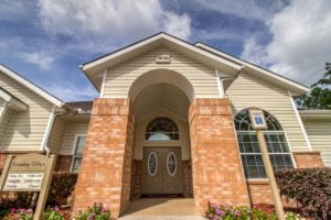 Timber Run Apartments Springs Texas entrance